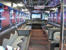 40 Passenger Party Bus Atlanta