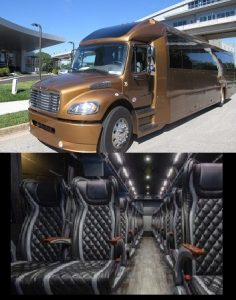44 Passenger Luxury Mini Bus Atlanta